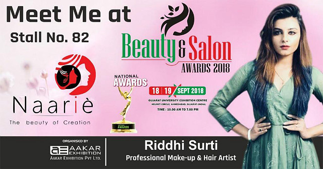 Riddhi Surti at Beauty & Salon Awards 2018